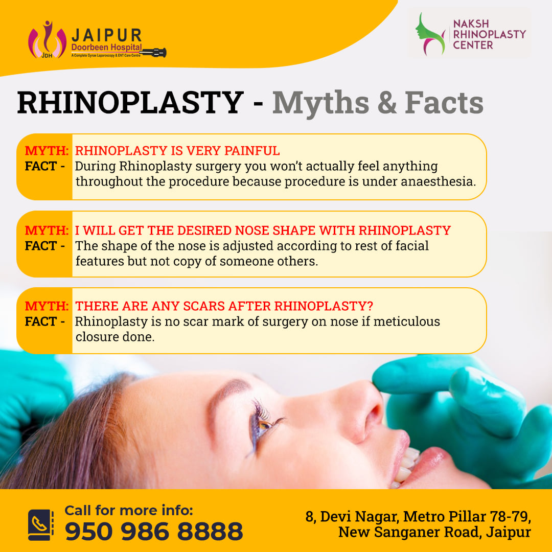 Myth and Facts about Rhinoplasty Surgery- Part 2