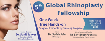 One Week True Hands-on Surgical Rhinoplasty Training Program