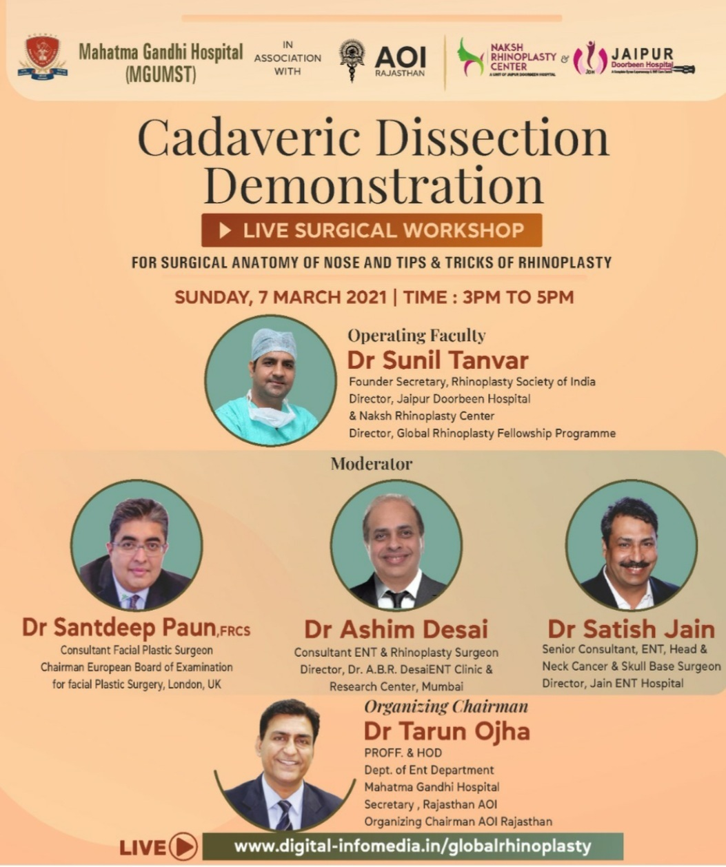 Cadaveric Dissection Demonstration